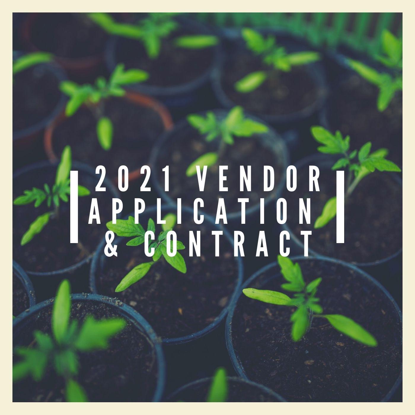 2021 Vendor App